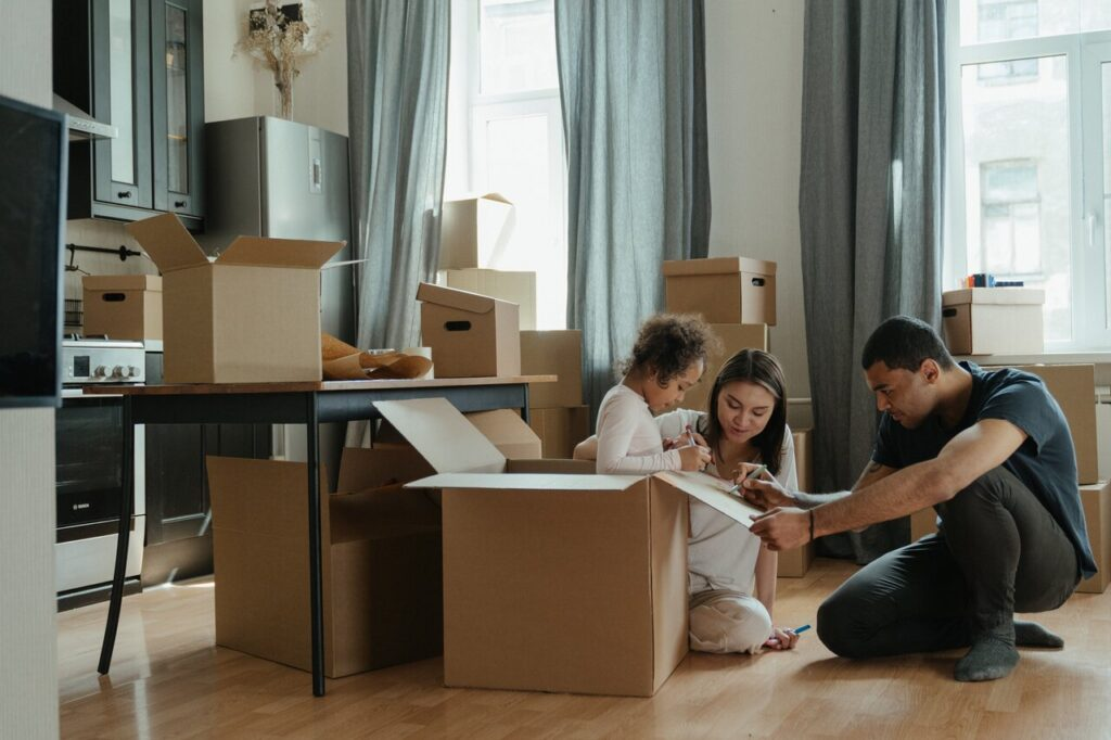 Planning your house moving