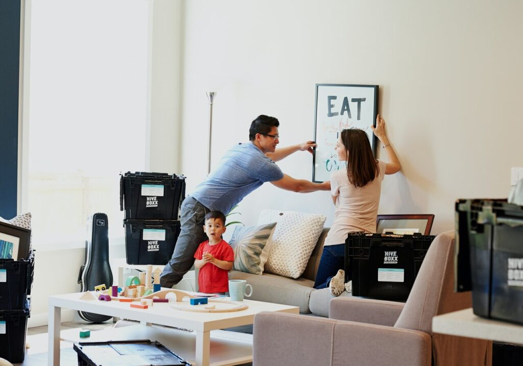 Apartment moving company in California