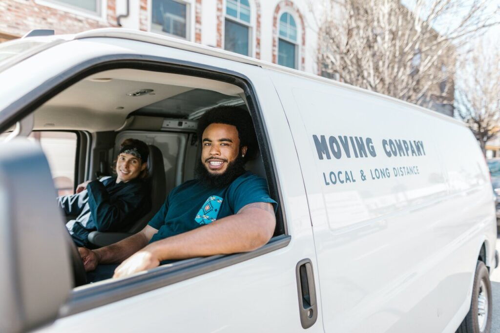 Moving services from California to Texas