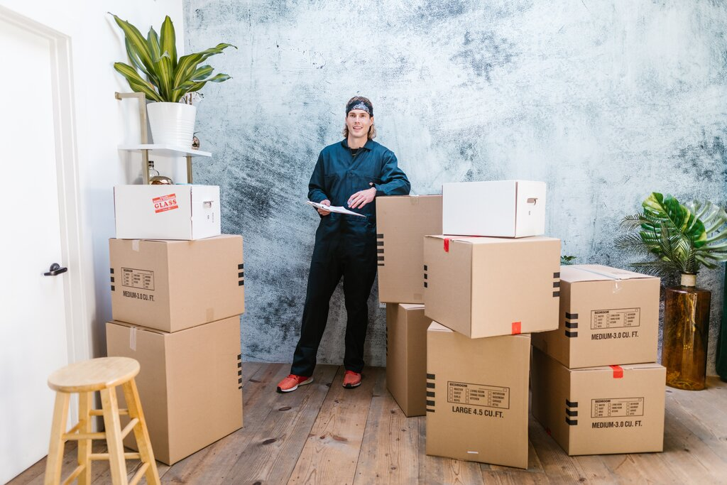 Packing your boxes professionally